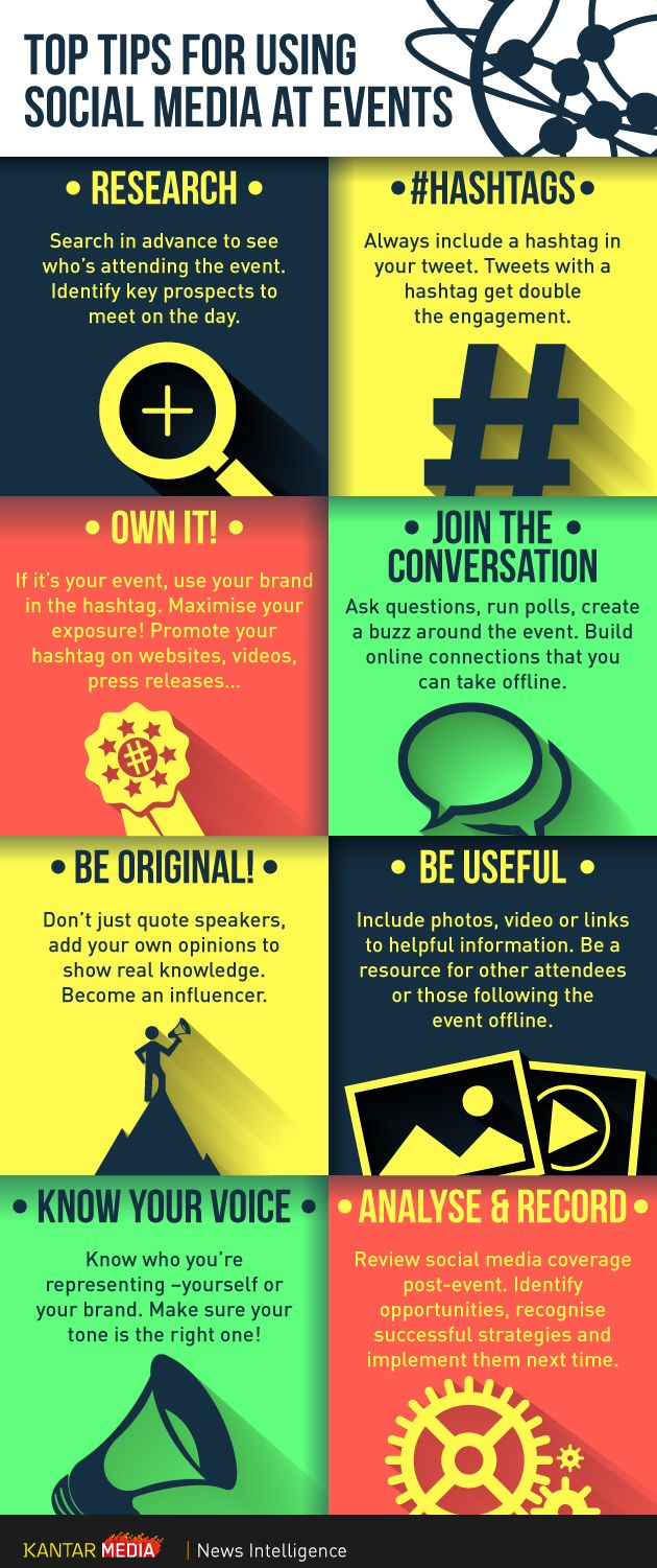 tips on how to grow social media for events