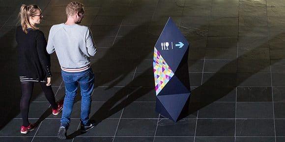 Pop-up banner alternatief: de Triablock