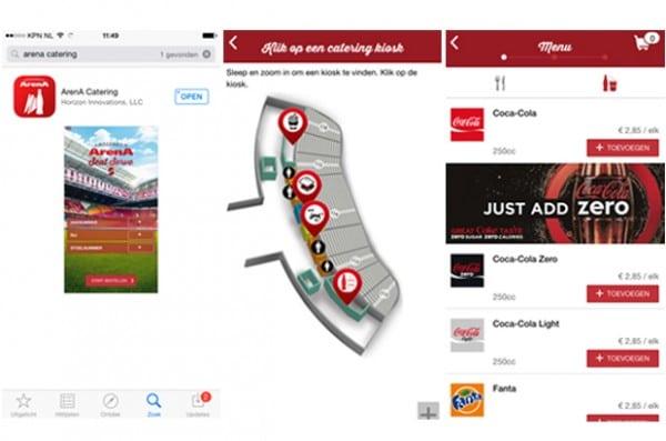 Coca Cola Zero Zitzak.Seatserve Laat Bezoekers Bestellingen Doen Met Hun Mobieltje