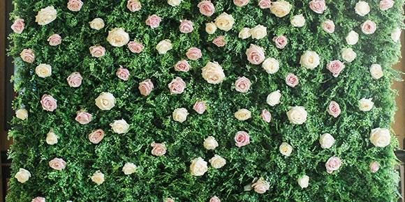 Bloemenmuur