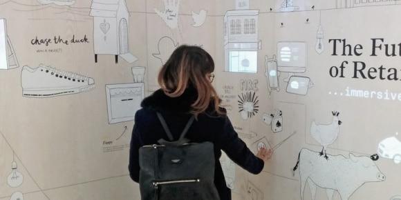 interactieve muur