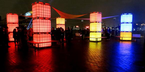 LED kubussen