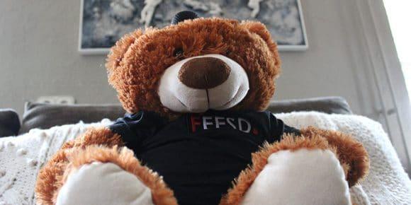 Teddybeer microfoon