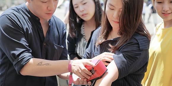 tijdelijke tattoo voor evenement