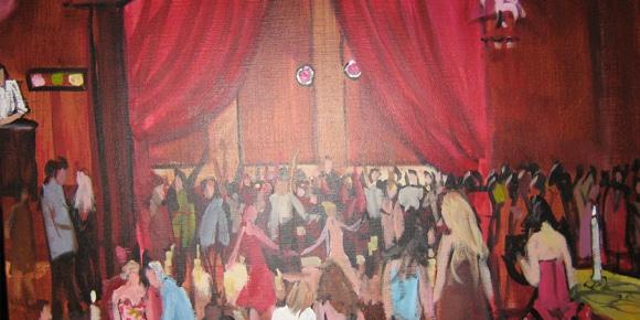 Evenement schilderij