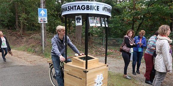 Foto booth op wielen