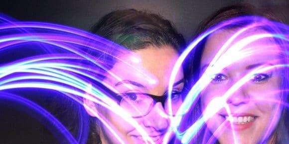 Fotohokjes lichtjes