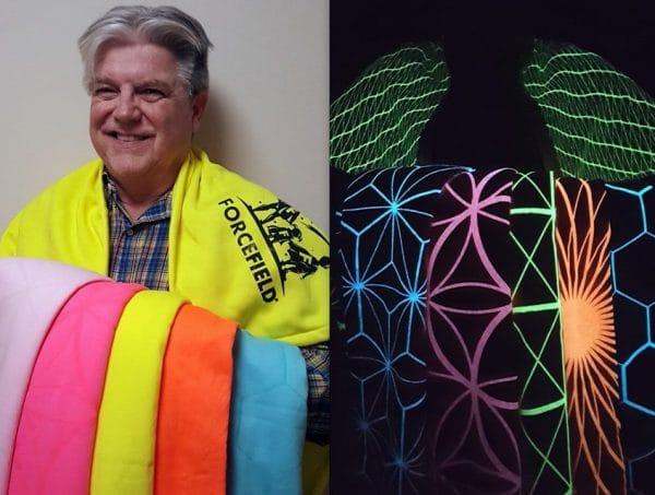 Lichtgevende dekens voorbeeld