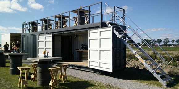Eventrailers en containers