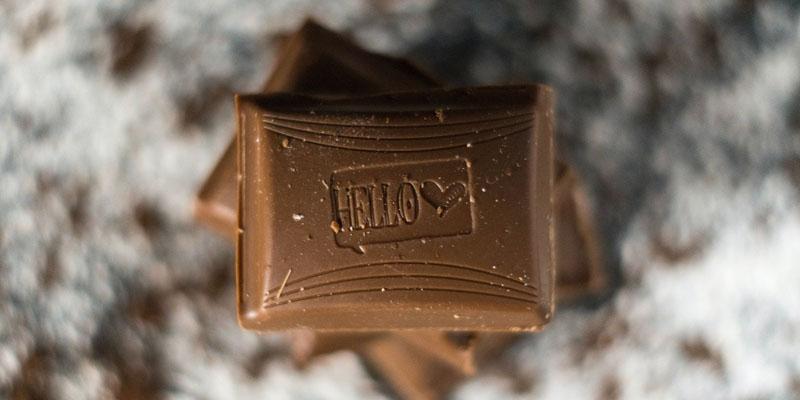 Origineel chocolade cadeau
