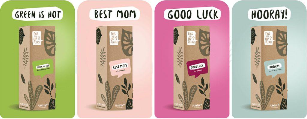 Plantenbox-verpakking