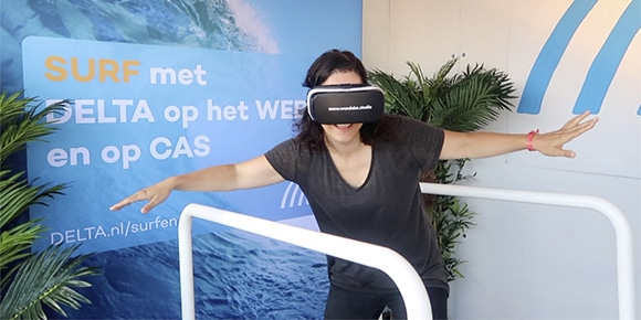 VR marketingactie