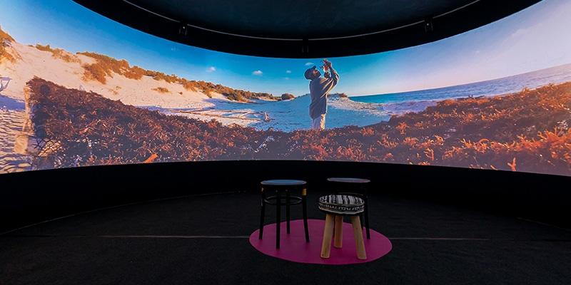 VR pop-up bioscoop