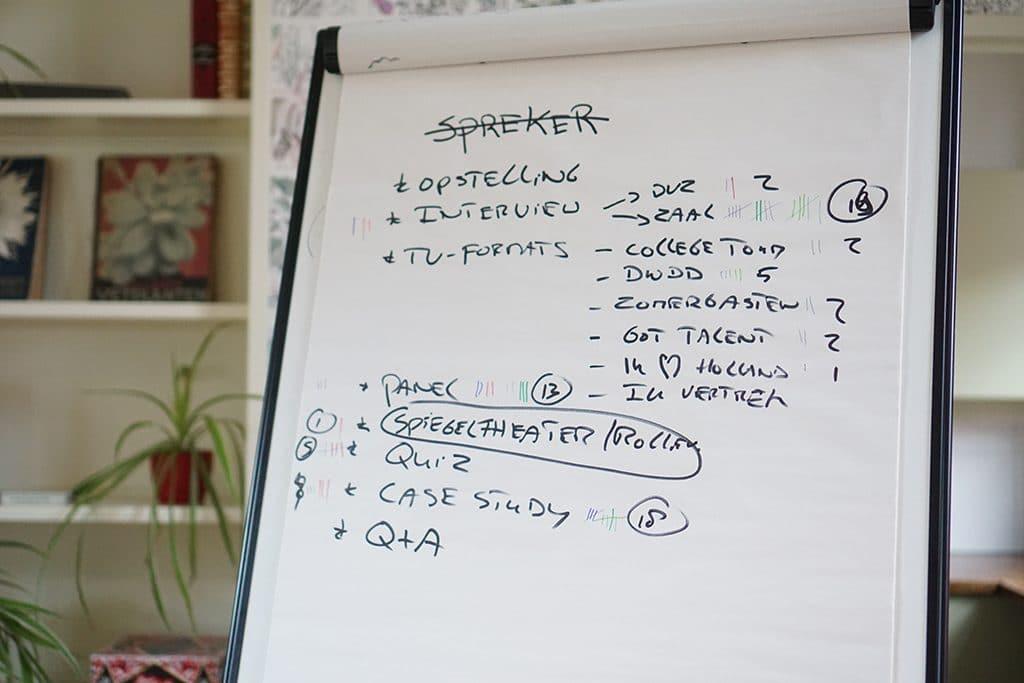 Alternatieve ideeen voor sprekers