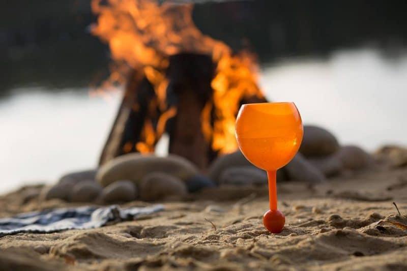 Beach glas