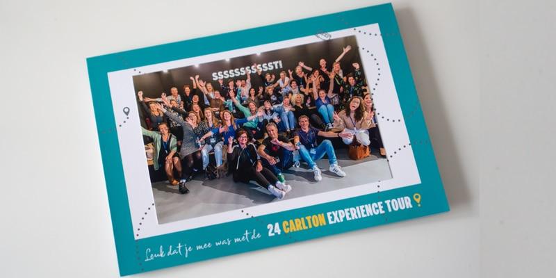 Bedankkaartje evenement