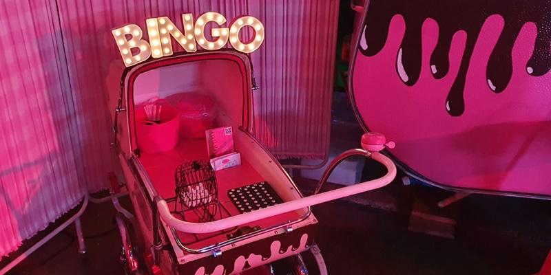 Act met chocolade bingo
