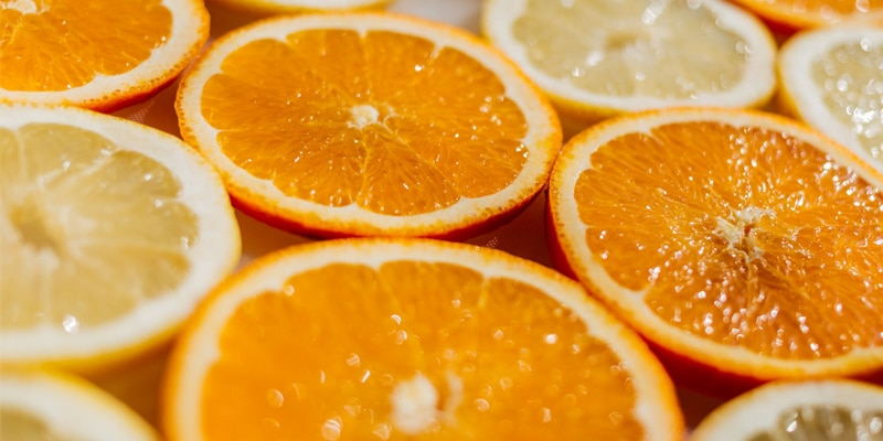 Circulaire sinaasappelbar