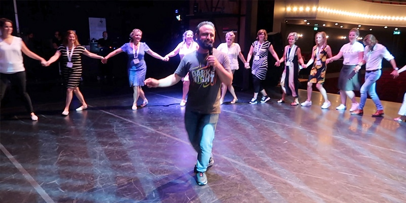 Workshop Dabke dansen