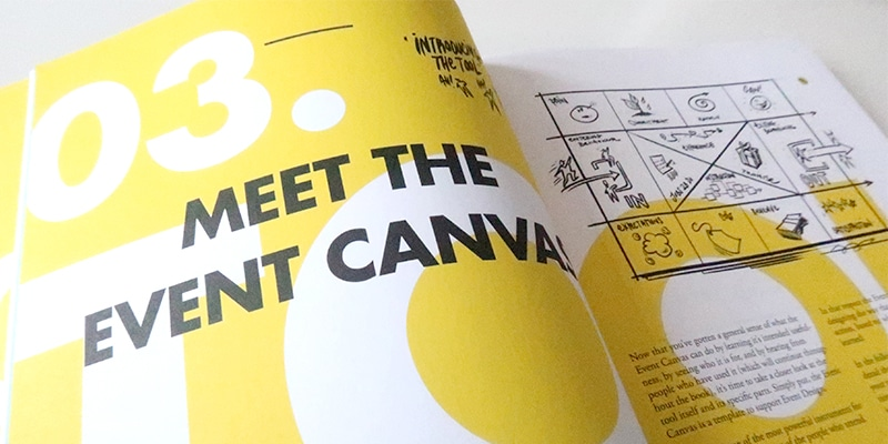 EventCanvas boek