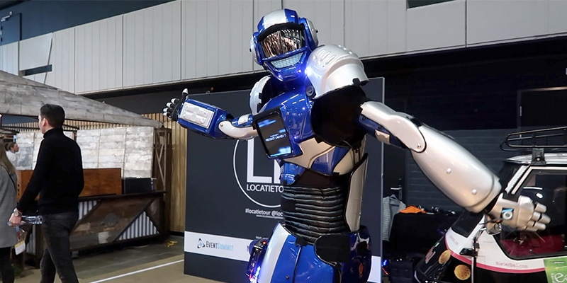Robot act op EventSummit 2019