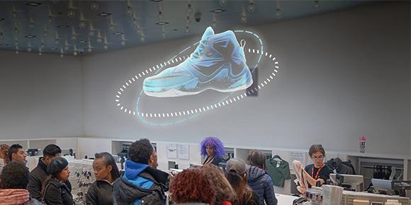 Hologram sneaker