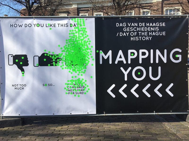 Infographic door middel van interactive mapping
