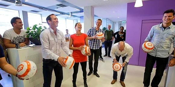 jongleur op een evenement