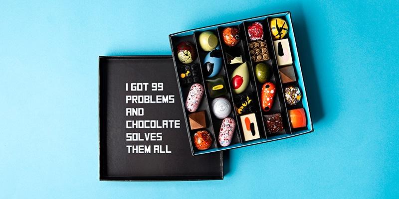 kunstige chocolaatjes