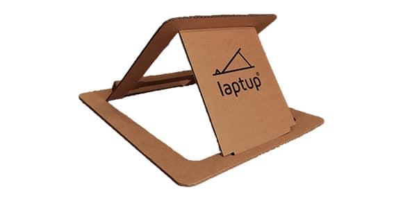 Laptupstandaard give away