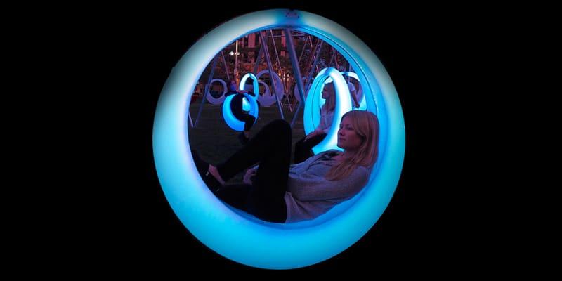 LED-schommel voor evenementen