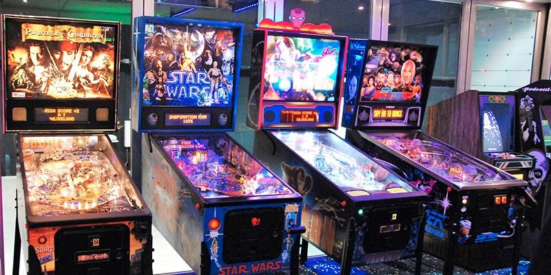 Mobiele arcadehal