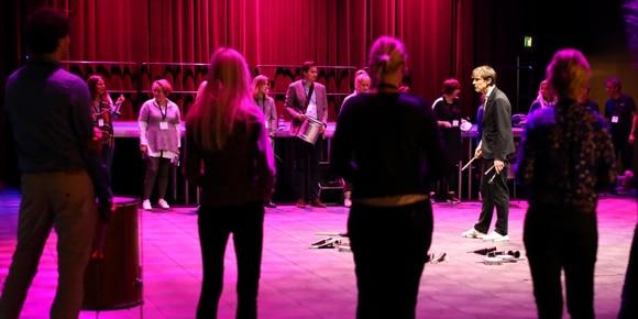 Percussie workshop Locatietour