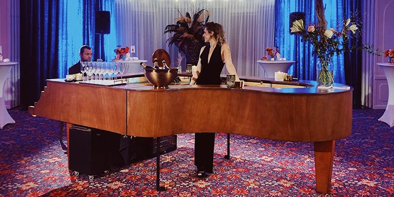 Mobiele piano bar