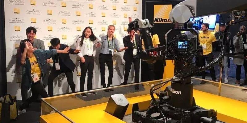 Robotarm maakt slow-motion portretten
