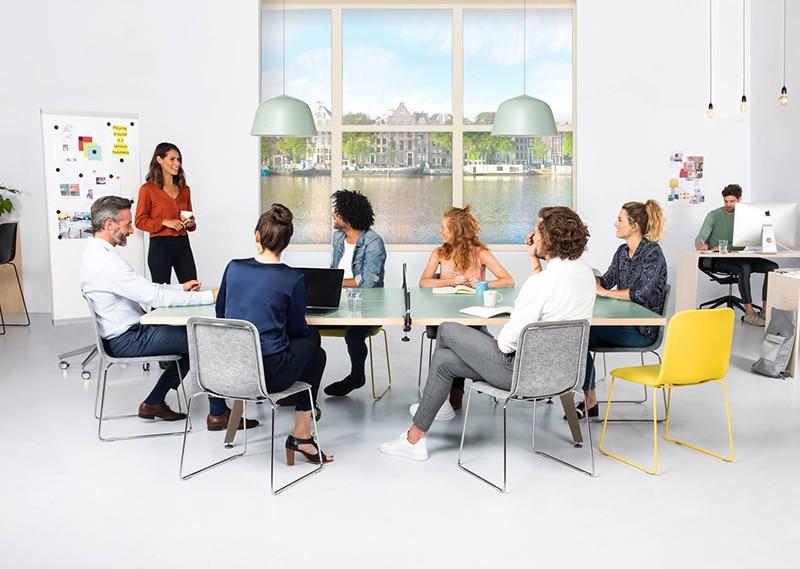 Tafeltennis vergadertafel