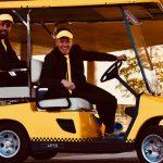 Een taxi-ritje inclusief entertainment