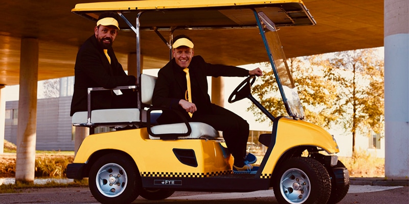 Taxi evenement inclusief entertainment