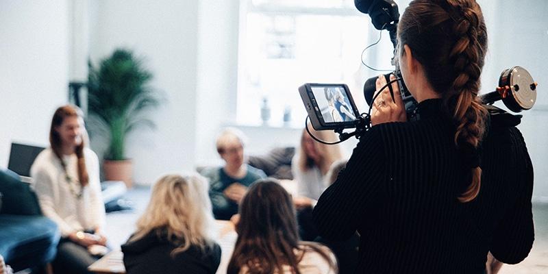 Toestemming vragen voor filmen en foto's