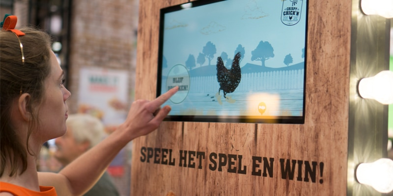 Touchscreen marketing als beursstopper