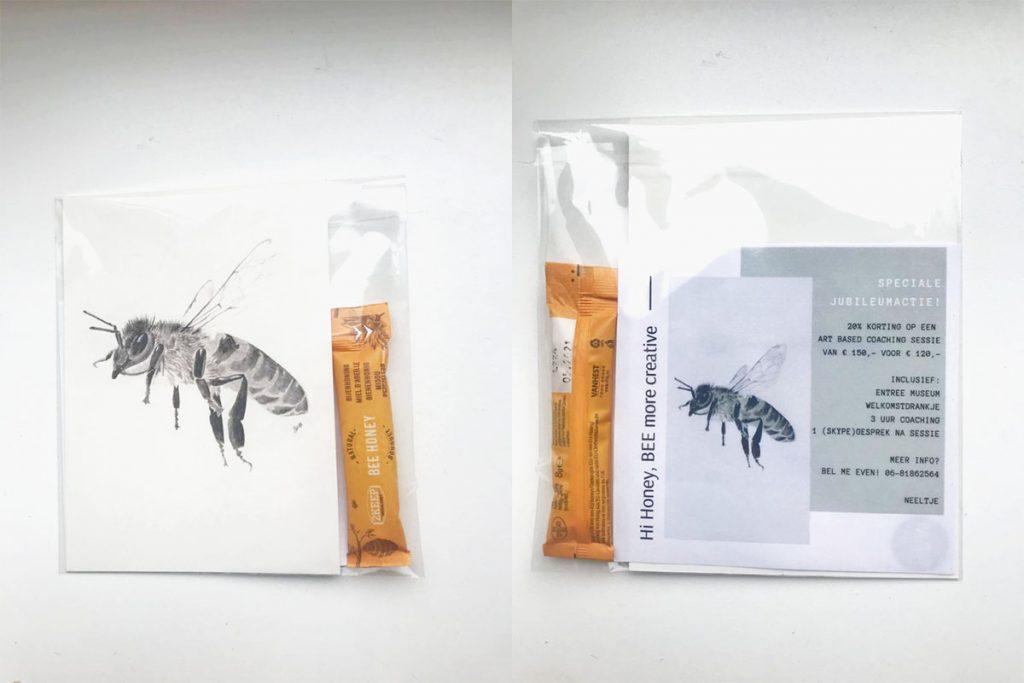 Goodiebag idee: zakje honing